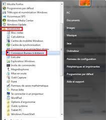 connexion bureau distance windows 7 comment se connecter à distance à un autre ordinateur sur windows 7