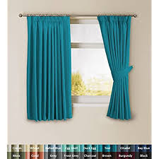 teal curtains amazon co uk