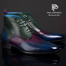 multicolor leather boots men u0027s luxury footwear by paul parkman