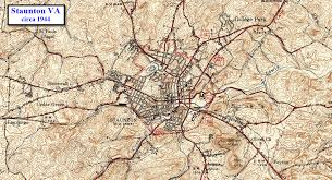 Salem Virginia Map by Staunton Va Railfan Guide