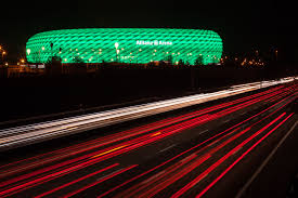 Arena Lights Connected Philips Led Lighting For The Allianz Arena Fc Bayern