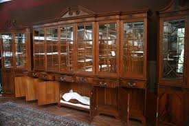 Break Front Cabinet Sideboards Inspiring Large China Cabinet Used China Cabinet