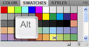 how to clear color swatches in photoshop u0026 illustrator
