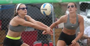 northern lights volleyball mn beach volleyball grows in popularity among high players