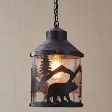 Black Iron Ceiling Light Rustic Chandeliers Cabin Lighting Black Forest Décor