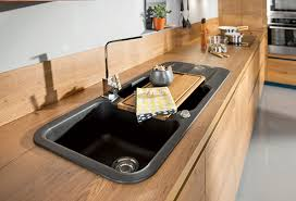 cuisine avec plan de travail en bois les plans de travail les crédences comptoir des bois