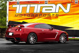 red nissan 2016 regal red nissan gtr premium 6 400 miles modified by titan