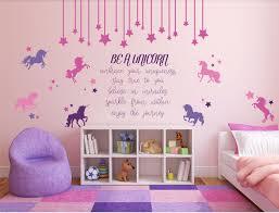 be a unicorn full wall mural vinyl girl s bedroom decor nursery be a unicorn full wall mural vinyl girl s bedroom decor nursery teen see this great