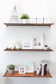 Floating Wooden Shelves by Several Ideas To Put Floating Wood Shelves In The Room Midcityeast
