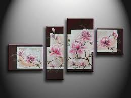 art to decorate your home decorations lovely hand painted cool flora wall art ideas easy