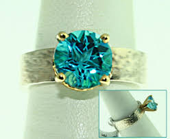jewelry topaz rings images Lonestar topaz ring hammered band jpg