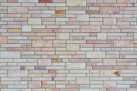 exterior white and brown brick wall textured wall background