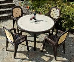 Pvc Patio Table Plastic Patio Furniture Pros And Cons