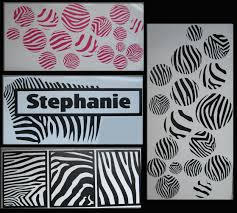 wall decor zebra home design