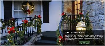 Banister Garland Ideas Christmas Door Decorating Ideas