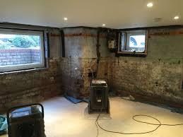 hale basement conversion u2013 flooded basement to dry multi room