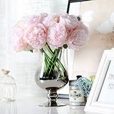 fleur artificielle mariage lianle bouquet fleur artificiel pivoine fleur déco mariage maison