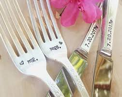 wedding silverware wedding silverware etsy