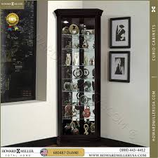 Glass Curio Cabinet With Lights Stunning Black Corner Curio Cabinet With Light 89 For Simple