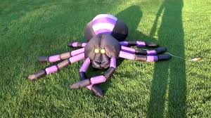 inflatable spider halloween inflatable spider youtube