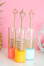 Learn How To Diy A by A Kailo Chic Life Craft It Brass Himmeli Drink Stirrers