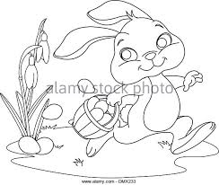 basket with easter eggs black and white stock photos u0026 images alamy