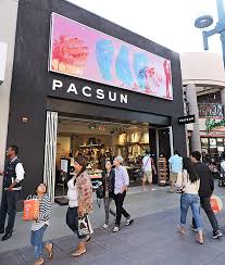 lighting stores santa monica pacsun opens up with santa monica store california apparel news