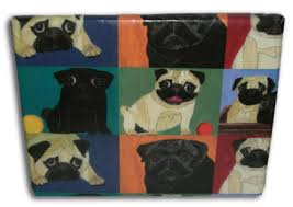 pug wrapping paper pug gift wrap pug dog wrapping paper