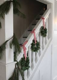 Banister Decor 37 Beautiful Christmas Staircase Décor Ideas To Try Digsdigs