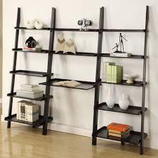 amazon com mintra black finish 5 tier ladder book shelf kitchen