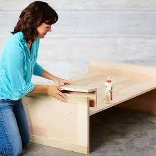 how do you attach island cabinets to the floor how to build a diy kitchen island lowe s