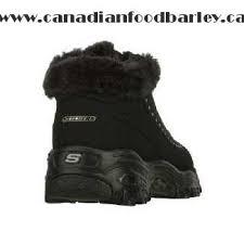 skechers womens boots canada s skechers d lites eskimo black canada shop
