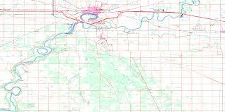 La Salle Campus Map Portage La Prairie Mb Free Topo Map Online 062g16 At 1 50 000