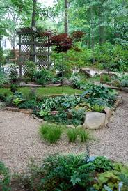 landscape designs moss and stone gardens