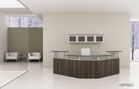 Small Office Reception Desk by Home Office New Contemporary Glass Furniture Modern Image Of With