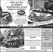 thanksgiving black friday saturday perkins restaurant and bakery