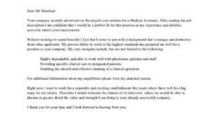 cover letter samples for medical assistant stibera resumes