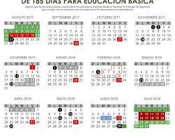 Calendario Diciembre 2018 Publica Sep Calendario Escolar Para El Ciclo 2017 2018 Noticias