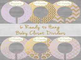 Baby Dividers Printable Baby Closet Dividers Free Printable Closet Dividers
