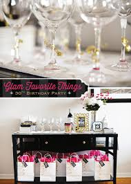 30th birthday party ideas glam favorite things party 30th birthday hostess with the mostess