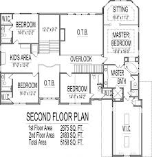 5 bedroom floor plans 2 story 5000 sq ft house floor plans 5 bedroom 2 story designs blueprints