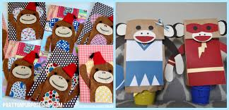 Sock Monkey Favors by Sock Monkey Week Favors And Activities On Purpose