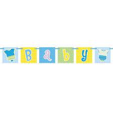 baby shower ribbon blue baby shower ribbon banner