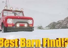 Barn Find 3 Forza Horizon Forza Horizon 3 Blizzard Mountain Fully Built International