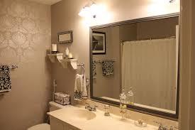 accessories stylish framing bathroom mirror ideas master