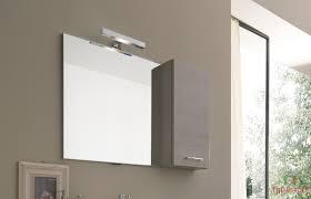 armadietto bagno con specchio moderno sospeso duo
