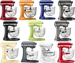 Kitchen Aid Colors by New Kitchenaid Stand Mixer Kf26m2x 6 Qt Pro 600 With Glass Bowl 11