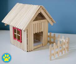 lolly popsicle stick hamster house diy hamster pinterest