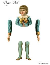vintage printable paper doll boy the graphics fairy