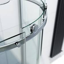 infiniti 8mm sliding door left handed offset quadrant shower